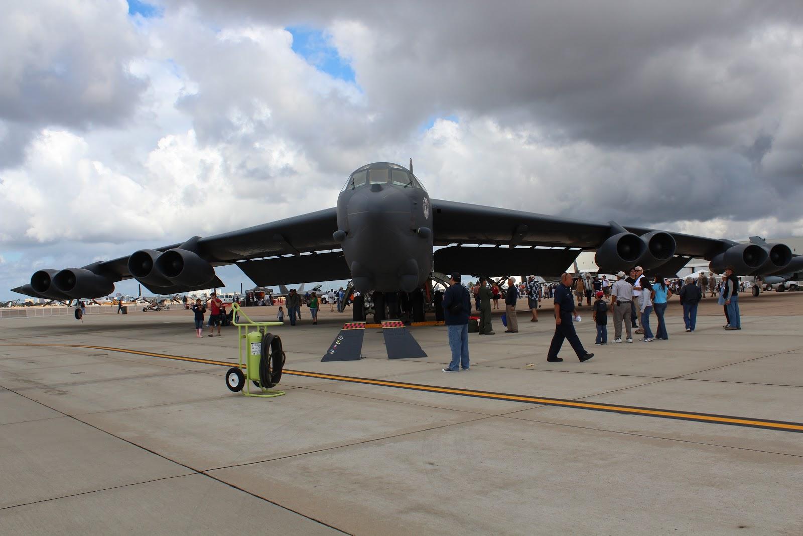 B-52 MCAS Miramar Air Show 2012