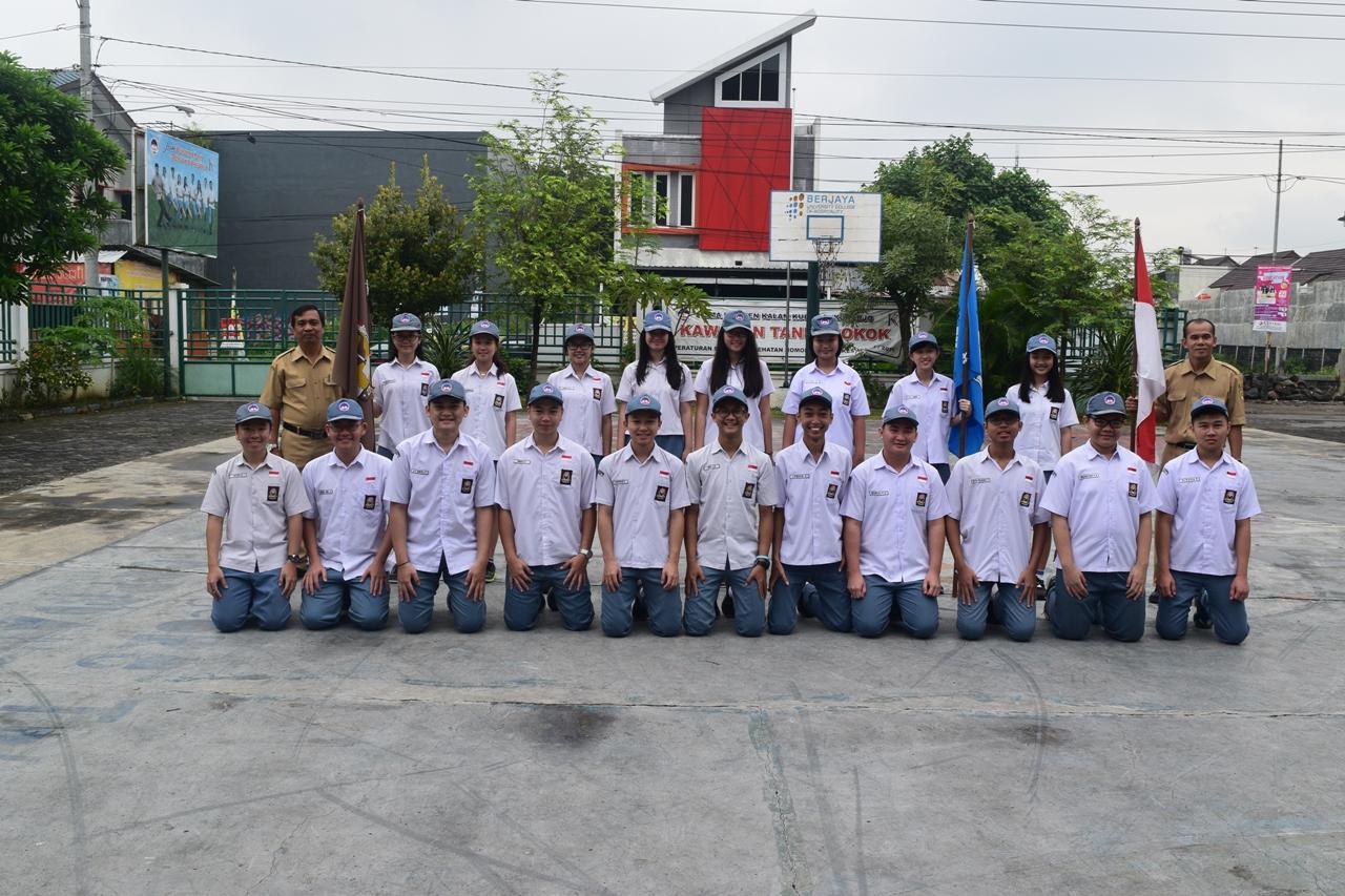 Pengurus OSIS SMA Kristen Kalam Kudus Sukoharjo 2017/2018