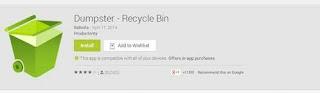 Cara Mengembalikan Data File yang Hilang atau Terhapus di Android