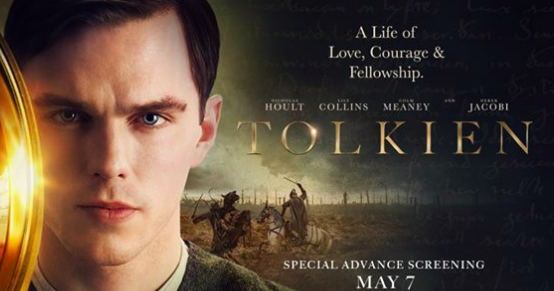 Movie Poster 2019: TOLKIEN Premieres As A One-Night LIVE Cinema Event On May