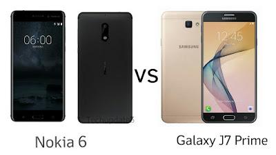compare-Nokia 6 vs Samsung Galaxy J7 Prime