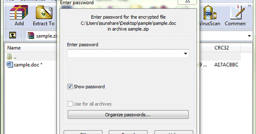 How Can I Create An Encrypted Zip Archive In Windows Ask