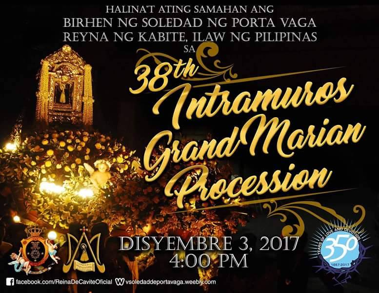 intramuros grand marian parade 2017