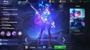 Cara Menggunakan Skill Hero Lesley Mobile Legends