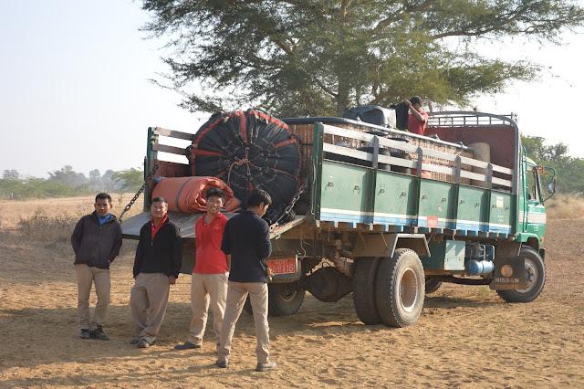 L'équipe de Baloons over Bagan