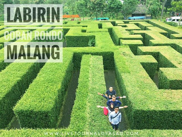 Alun Alun Kota Batu, Labirin dan Air Terjun Coban Rondo Malang