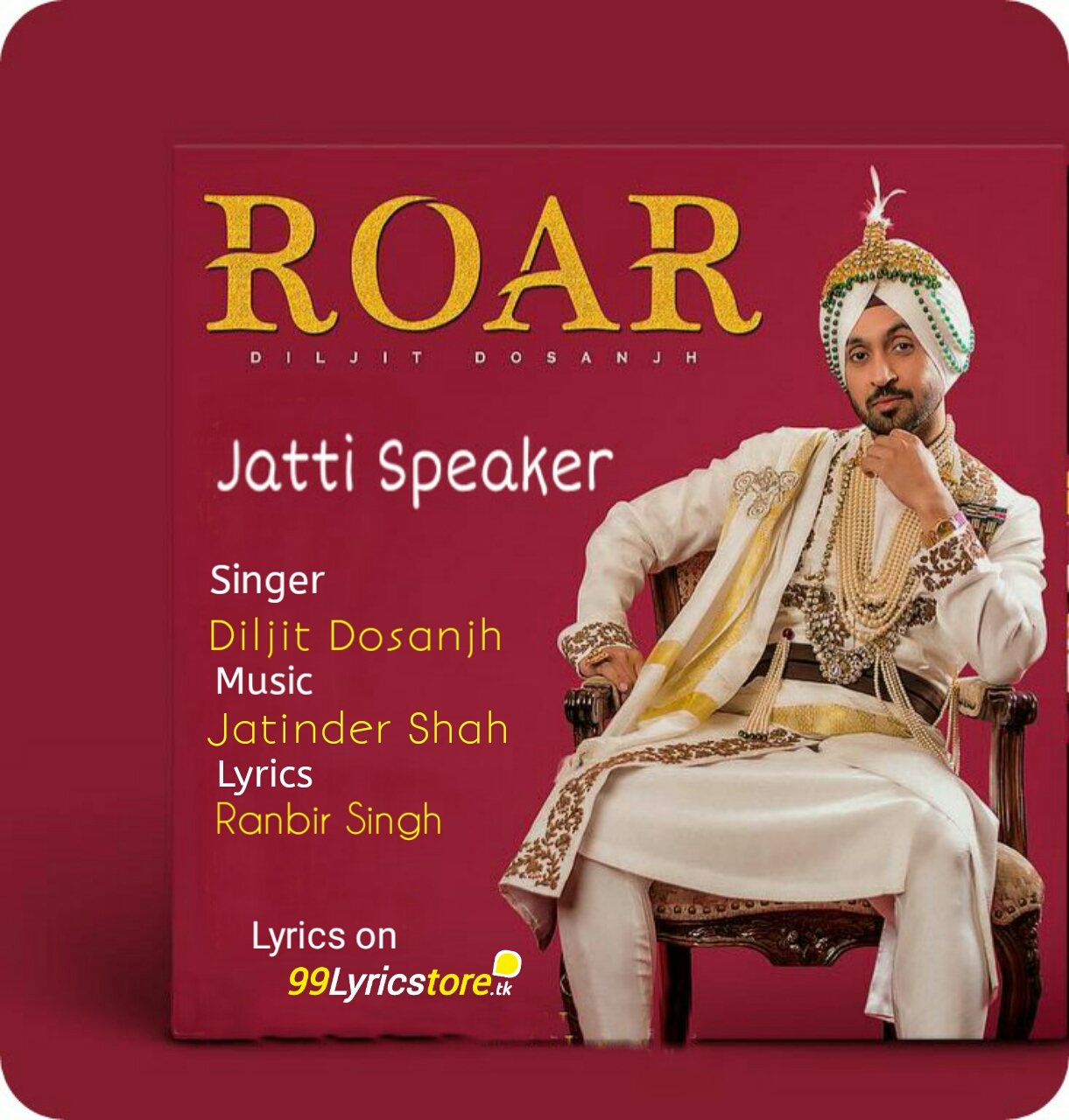 Roar Diljit Dosanjh Punjabi Songs Lyrics, Jatti Speaker Lyrics Roar Diljit Dosanjh, Diljit Dosanjh Punjabi Song Jatti Speaker Lyrics, Diljit Dosanjh Jatti Speaker Song Images, Roar Diljit Dosanjh Album Song Lyrics, Roar Diljit Dosanjh Album images, Jatti Speaker Punjabi Song Images, Jatindar Shah Song Lyrics, Ranbir Singh Punjabi Song Lyrics, Latest Punjabi Song Lyrics 2018, Roar (2018) Album Songs Lyrics,