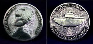 Monedas estadounidenses con extraterrestres