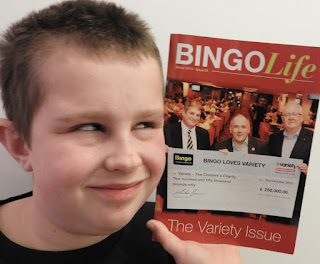 bingo life magazine and young fan