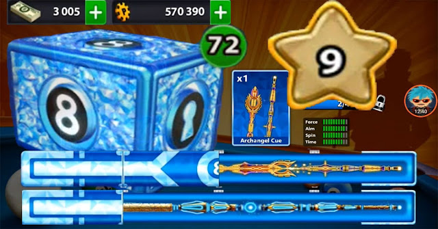 8 ball pool cue 20\20 level 10 cash 1544
