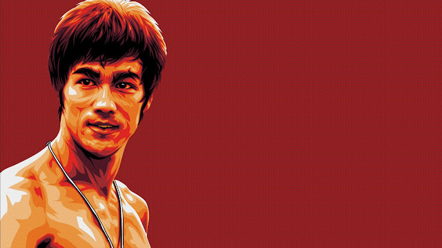 Hermosos Retrato Bruce Lee