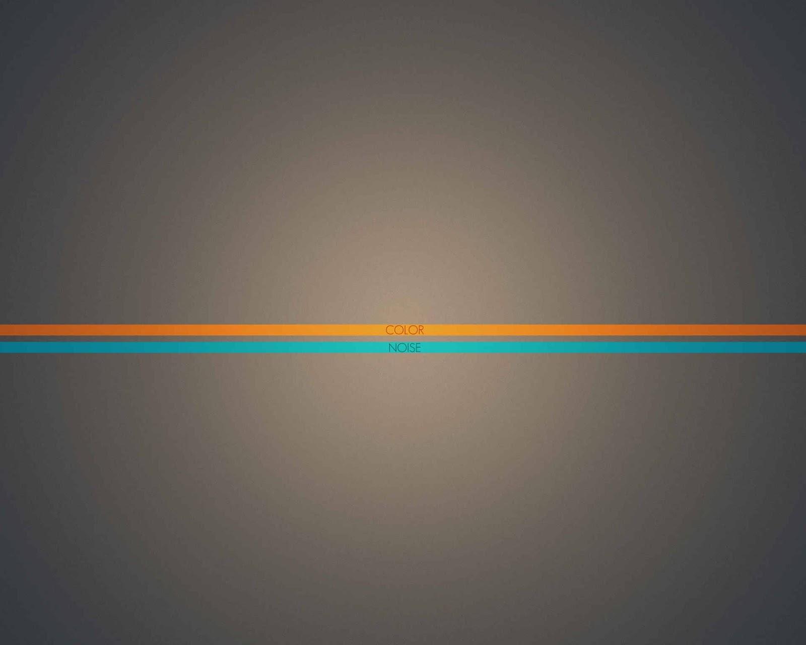 Fondo De Pantalla Abstracto Linea Horizontal Naranja Y