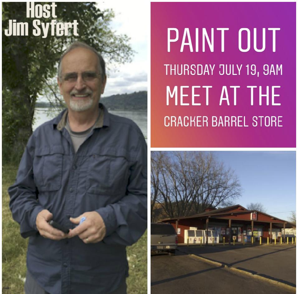 meet host jim syfert at the cracker barrel store on sauvie island thursday july 19 at 9am 15005 nw sauvie island rd map