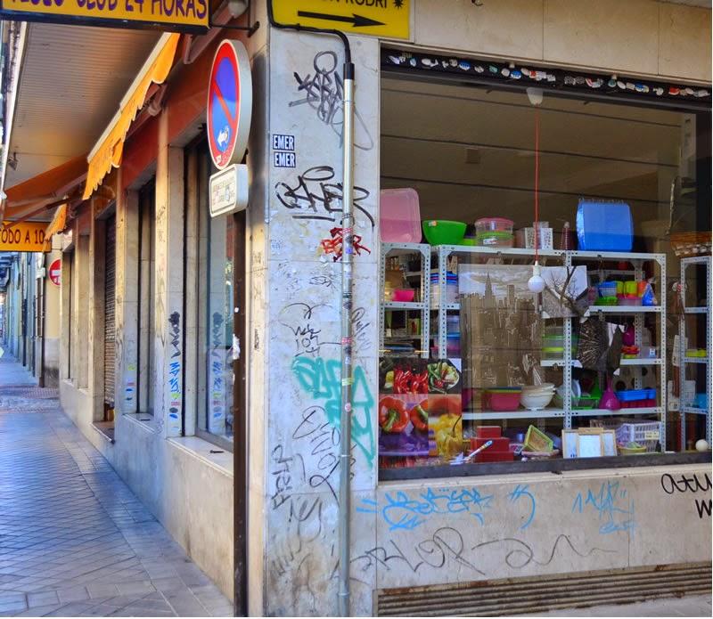 Grafitti in Granada, Andalucia, Spain