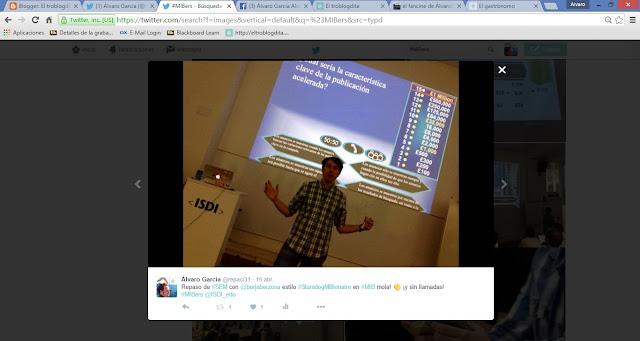 MIBer - MIBers - el MIB en imágenes: Twitter - ISDI - Álvaro García - ÁlvaroGP - Social Media & SEO - Borja Berzosa - Google España - Google Spain
