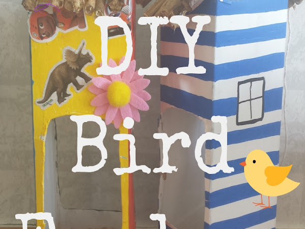 DIY Bird Feeders {Kids Craft}