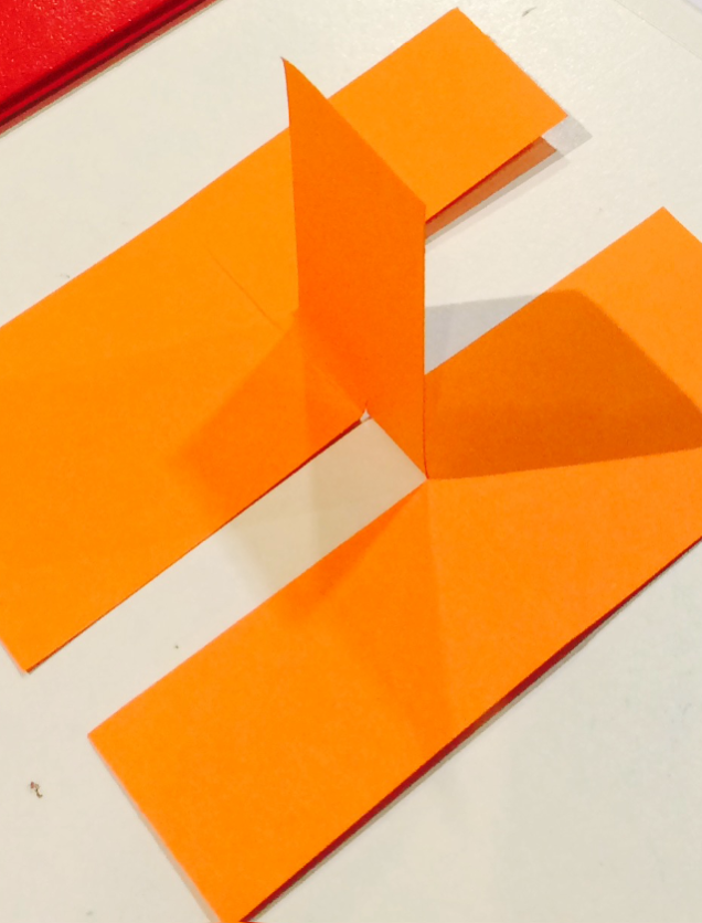 how to make a bridge with 3 pieces of paper