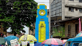 A cool landmark in the most busy Lagos on planet