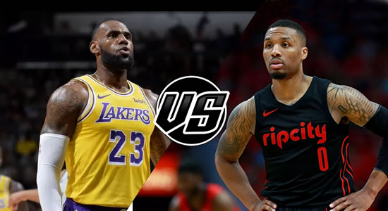 Live Streaming List: LA Lakers vs Portland Trail Blazers 2018-2019 NBA Season