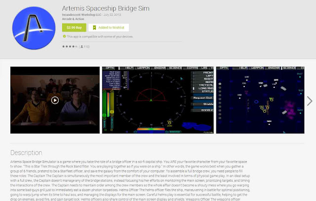 Artemis on Google Play
