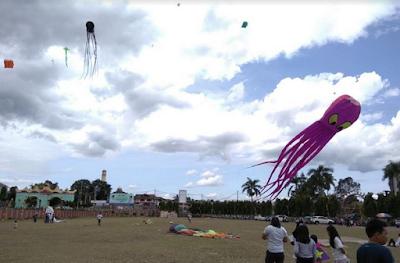 Festival Layang Layang PUPR Lampung Diikuti 4 Negara