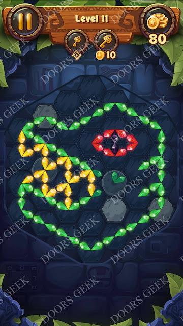 Gems & Magic [Indigo] Level 11 Solution, Walkthrough, Cheats