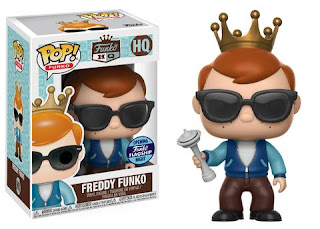 Freddy Funko with Space Needle Pop!