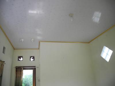 Hasil Pemasangan Shunda Plafon di Rumah Ibu Yati