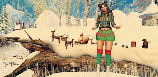 Addams Chandra skirt & Plataform boots & Monso Kaisce hair