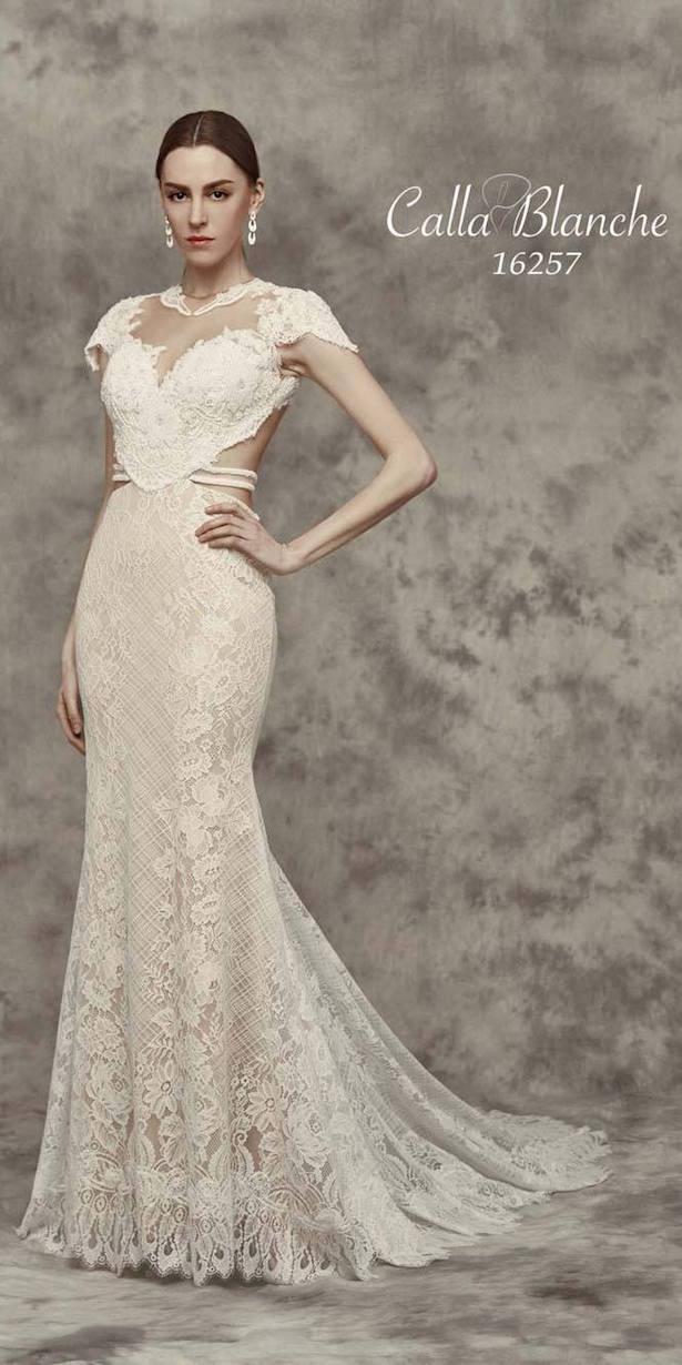 vestidos de novia manga corta
