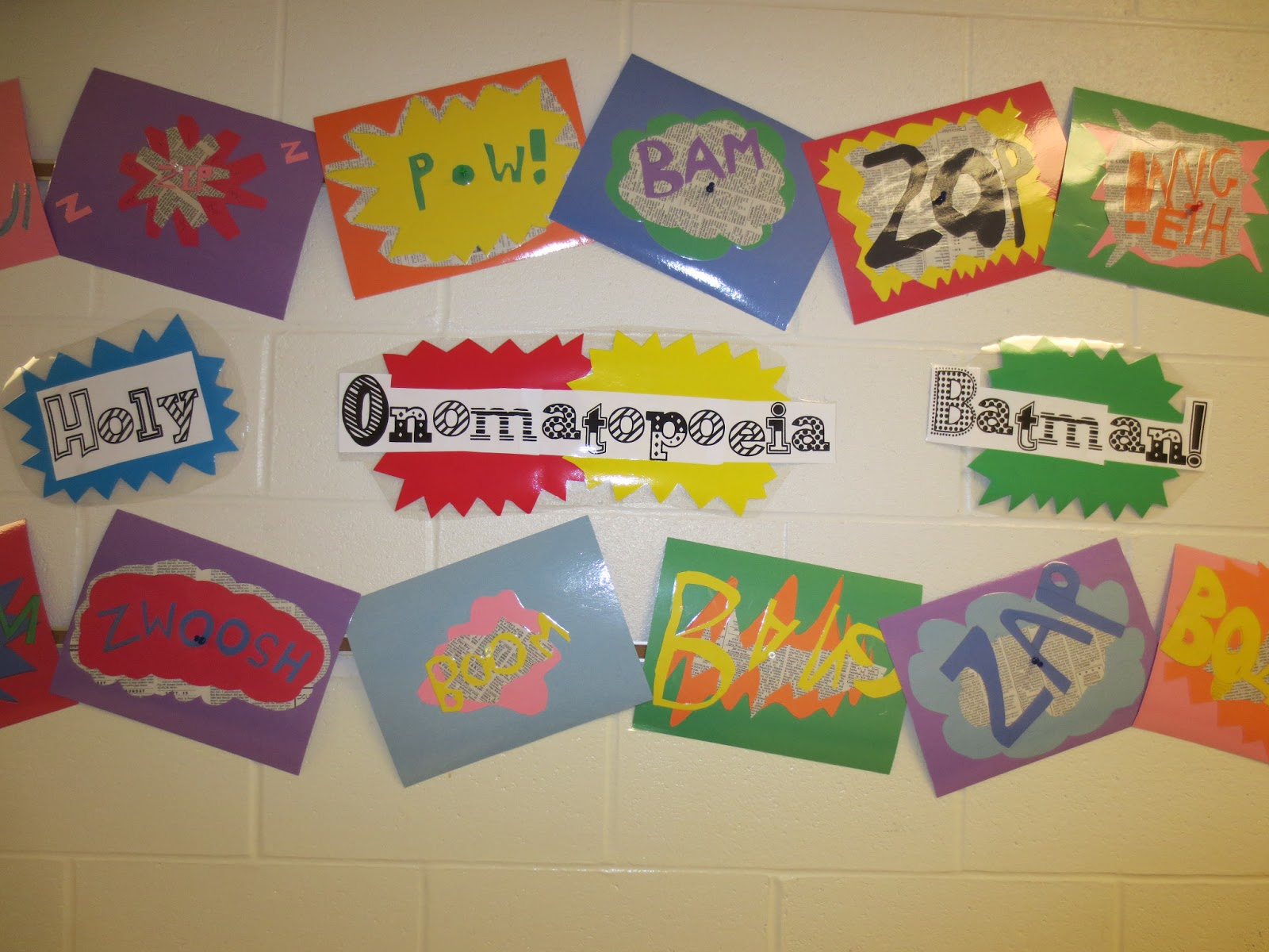 Mrs Crouse S Teaching Adventures Holy Onomatopoeia Batman