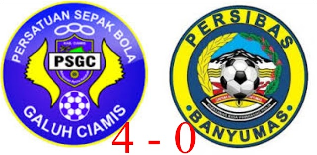 PSGC Bungkam Persibas Banyumas 4-0
