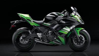 2017 Kawasaki Ninja 650 ABS side profile