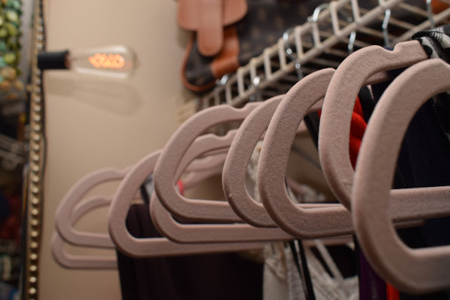 JoFer Interiors, Clothing Hangers, Decorative boxes, www.spacesmadeperfect.com