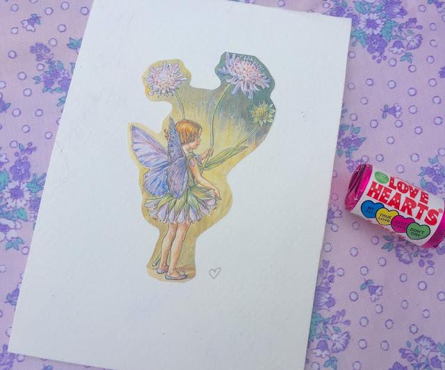 summer flower love faerie