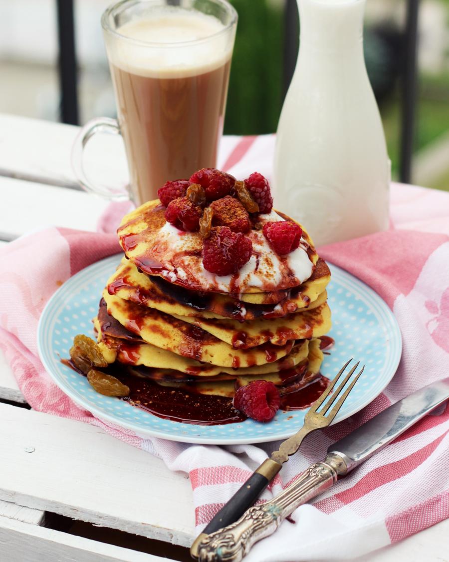 Odchudzone pancakes.