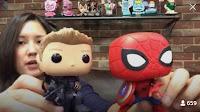 Funko Pop! Hawkeye & Spider-man