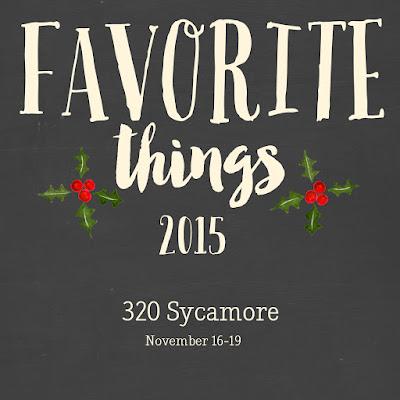 Favorite Things 2015