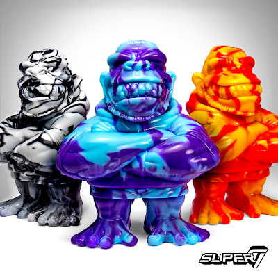Marbled Madness Gorilla Biscuits Vinyl Figures by Super7