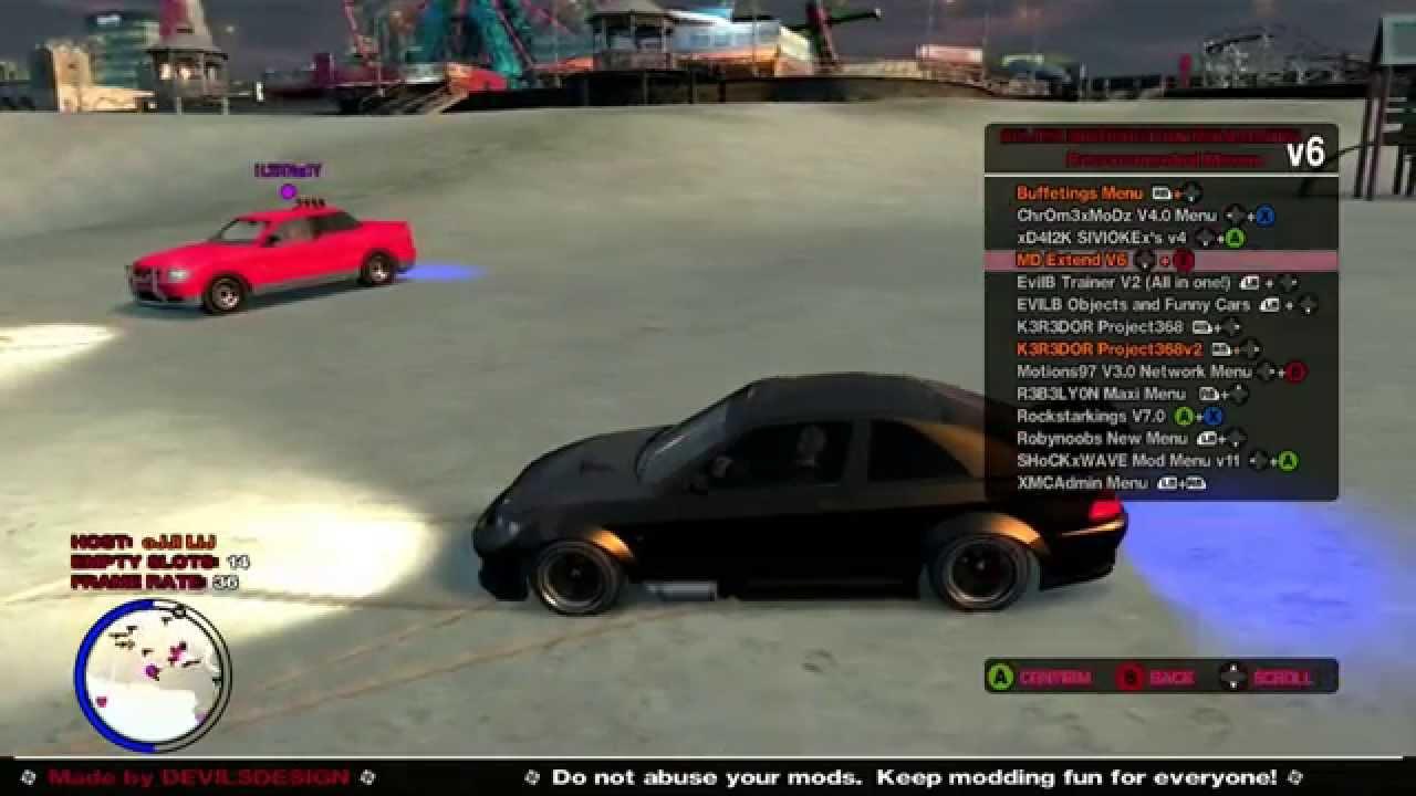 GTA IV Mod Menu (Major Distribution v8) PS3 & Xbox & PS4 & PC | Box