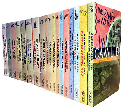 Camilleri's Montalbano books in the English translation