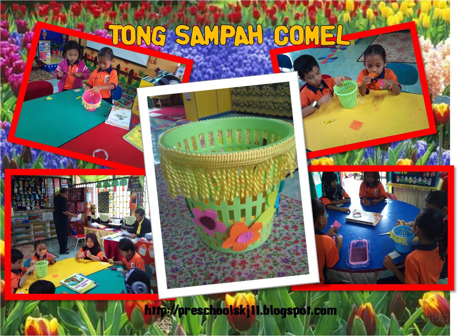 Cikgu Eela Il Preschoolers Pce Kemudahan Awam Tong Sampah