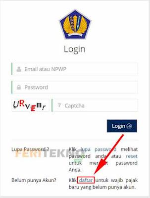 cara membuat npwp online 2