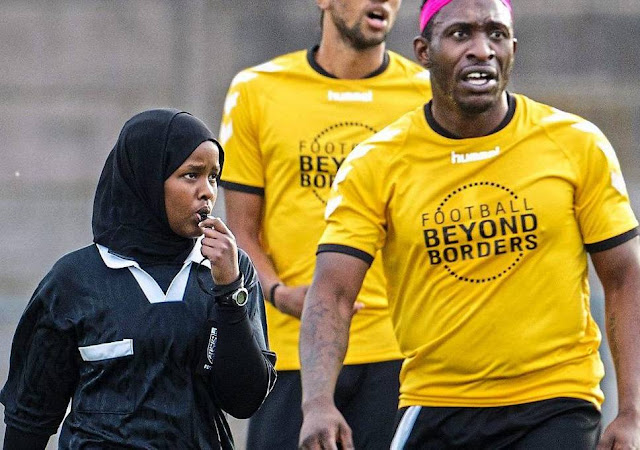 Jawahir Roble: Football referee, Muslim woman, role model
