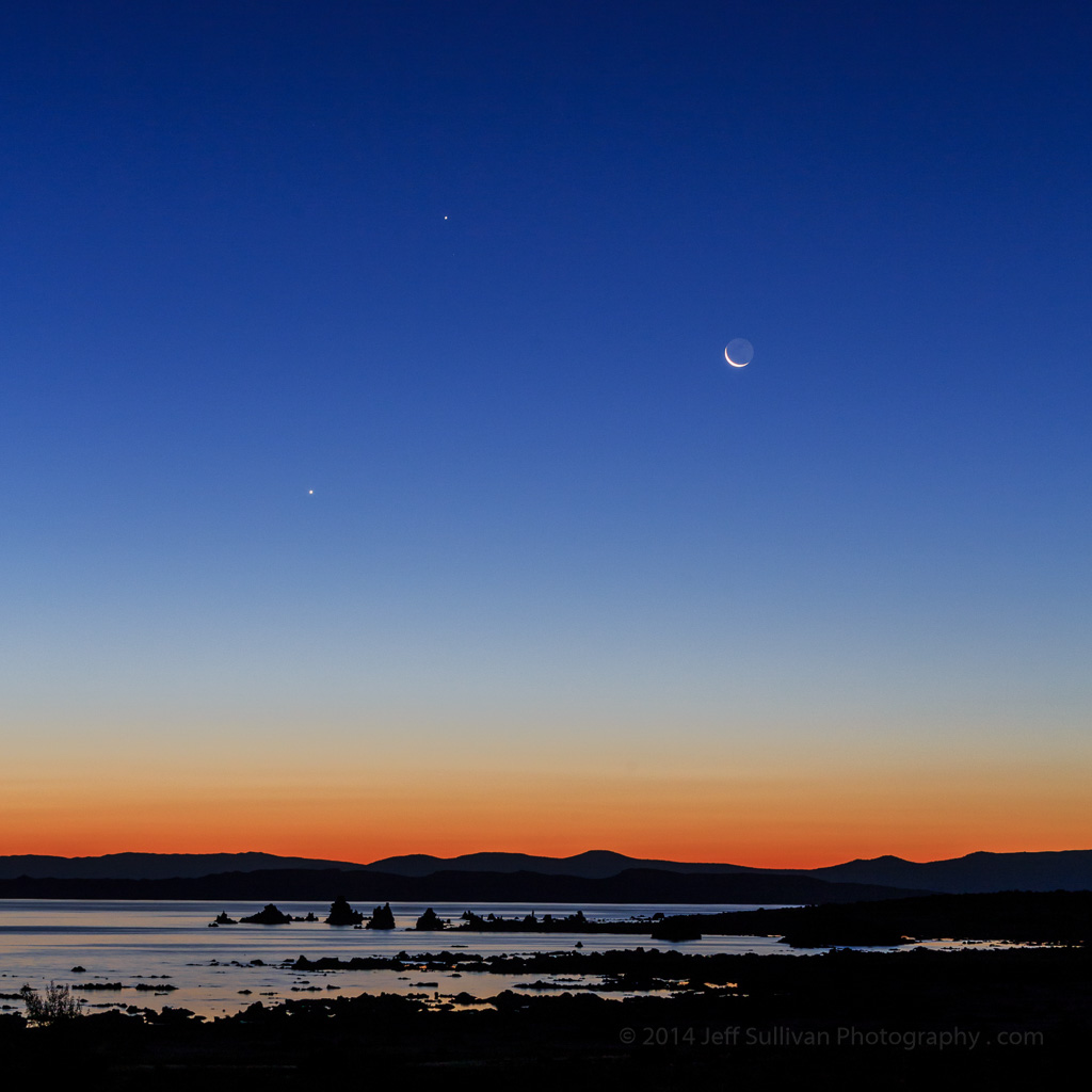 Mono Lake sunrise by Jeff Sullivan
