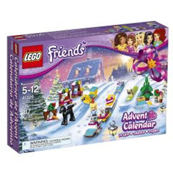 LEGO Friends Advent Calendar 41326 Building Kit with 217 pcs only $29.95 (was $59.99) with Free Shipping.