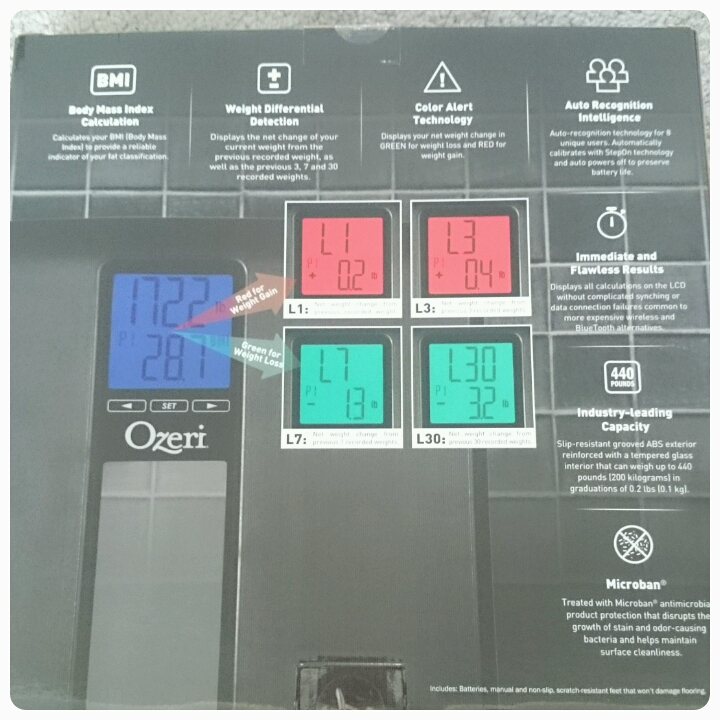 ozeri weightmaster II scales