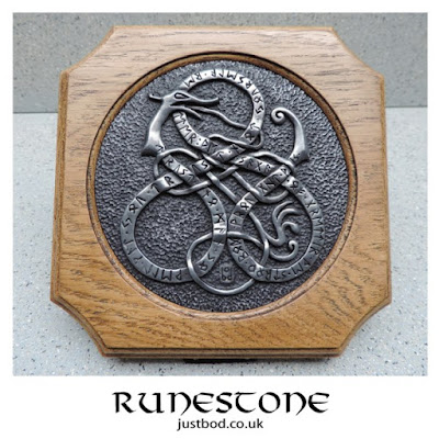 Runestone Wall Plaque from Justbod