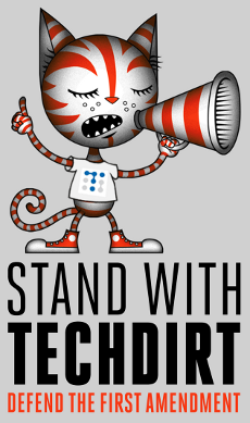 Stand With Techdirt!