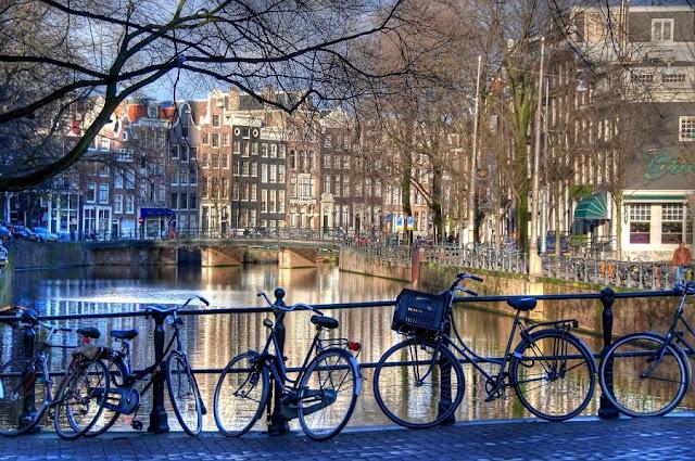 Passeio pelo bairro Jordaan em Amsterdã
